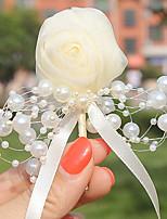 Bouquets de Noiva Alfinetes de Lapela Casamento Tule Miçangas 1.97