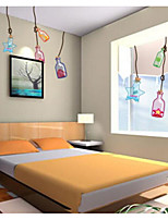 Cartoon Wall Stickers Plane Wall Stickers Walking,Plastic Material Home Decoration Wall Decal
