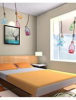 Desenho Animado Adesivos de Parede Autocolantes de Aviões para Parede Caminhada Material Decoração para casa Decalque