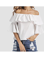Women's Going out Daily Street chic Summer Shirt