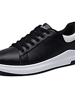 Men's Shoes PU Spring Fall Comfort Sneakers For Casual White/Green Black/White Pink/White Black White
