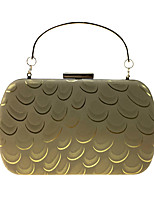 Women Bags All Seasons leatherette Evening Bag Pattern / Print for Wedding Event/Party Formal Gold Black Silver