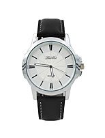 Men's Women's Fashion Watch Casual Watch Quartz PU Band Black