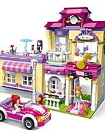 DIY KIT Building Blocks Toys Architecture Classic Theme Houses DIY Classic New Design Kids Adults' Pieces