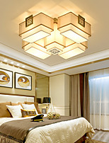Modern/Comtemporary Tiffany Artistic Nature Inspired LED Chic & Modern Country Traditional/Classic Flush Mount For Bedroom Study