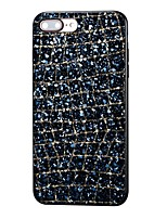 baratos -Capinha Para Apple iPhone X / iPhone 8 Com Strass Capa traseira Glitter Brilhante Rígida Strass para iPhone X / iPhone 8 Plus / iPhone 8