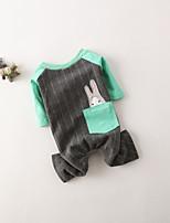 Dog Sweatshirt Dog Clothes Casual/Daily Rabbit/Bunny Gray Blushing Pink