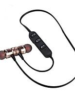 st009 no ouvido fones de ouvido sem fio liga de alumínio dinâmico fone de ouvido com microfone com controle de volume atração de ímã