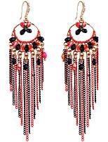 Femme Boucles d'oreille goutte Alliage Forme Géométrique Bijoux Pour Mariage Soirée Fiançailles Cérémonie