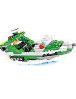 Building Blocks Helicopter Toys Ship Helicopter Nautical Military Kids Boys 300 Pieces