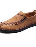 Homme Chaussures Cuir Eté Automne Confort Semelles Légères Chaussures de plongée Mocassins et Chaussons+D6148 Pour Décontracté Noir Café