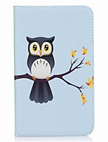 Owl Pattern Card Holder Wallet with Stand Flip Magnetic PU Leather Case for Samsung Galaxy Tab A 7.0 T280 T285 7.0 inch Tablet PC