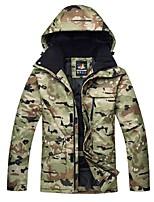 Ski Jacket Men's Ski & Snowboard Winter Sports Thermal / Warm Windproof Skiing Winter Jacket