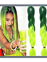 Jumbo Hair Braids 3 Pieces 24