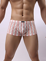 Men's Sexy Lace Floral Ultra Sexy Panties Boxers Underwear,Nylon Spandex