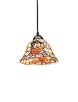 diâmetro 20cm tiffany pingente de luzes lâmpada de vidro sombra sala de estar sala de jantar luminária
