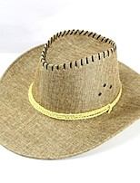 Men's Straw Straw Hat,Hat Boho Patchwork Summer Pure Color
