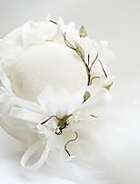 Для женщин Шапки Традиционный/винтаж Изысканный и современный Элегантный и роскошный Панама,Весна/осень Зима Качественный искусственный