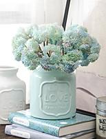 2 Une succursale Plastique Plantes Fleur de Table Fleurs artificielles
