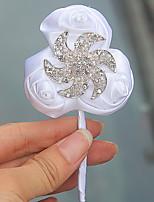 Свадебные цветы Бутоньерки Свадебное белье Около 7 см