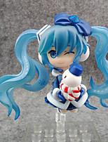 Figure Anime Azione Ispirato da Vocaloid Snow Miku PVC 7 CM Giocattoli di modello Bambola giocattolo