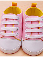 Baby Shoes Canvas Spring Fall Comfort First Walkers Sneakers For Casual Light Blue Blushing Pink Red Dark Blue