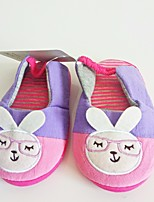 Girls' Shoes Suede Fall Winter Comfort Slippers & Flip-Flops For Casual Blushing Pink Blue
