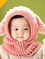 Kids' Kid Scarf, Hat & Glove Sets,Winter Fall/Autumn 100% Cotton