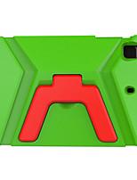 preiswerte -Hülle Für Apple Kindersicherung Rückseitenabdeckung Volltonfarbe Hart EVA für iPad Mini 4 iPad Mini 3/2/1