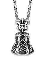 Men's Women's Pendant Necklaces Stainless Steel Rock Chrismas Jewelry For Christmas Street