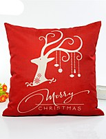 1 pcs Linen Pillow Cover,Geometic Style