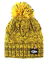Women's Knitwear Sweater Ski Hat,Hat Striped Pattern Color Block Winter Knitting