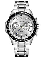 CURREN Men's Sport Watch Fashion Watch Wrist watch Quartz Stainless Steel Band Luxury Cool Casual Silver