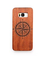 Case For Samsung Galaxy S8 Plus S8 Shockproof Back Cover Other Hard Wooden for S8 S8 Plus