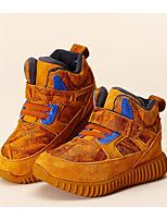 Fille Chaussures Daim Automne Hiver Confort Basket Pour Décontracté Gris Jaune Rouge
