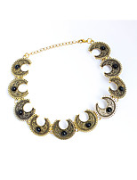 Women's Choker Necklaces Chain Necklaces Jewelry Circle Alloy Personalized Jewelry For Party Daily