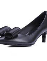 Women's Shoes PU Nappa Leather Spring Fall Basic Pump Heels Stiletto Heel For Casual Purple Black