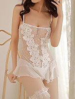 Women's Ultra Sexy Nightwear,Sexy Lace Solid-Thin Acrylic