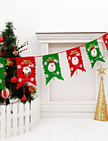 Ornaments Christmas Flags Christmas Holiday Home Decoration Christmas PartyForHoliday Decorations