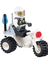 Building Blocks Motorcycle Toys Motorcycle Vehicles Military Non Toxic Classic New Design Kids Adults' Pieces