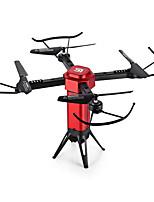 RC Drone JJRC L6059W 4 Canaux 6 Axes 2.4G Avec Caméra HD 720P Quadri rotor RC WIFI FPV Tenue de hauteur FPV Eclairage LED Mode Sans Tête