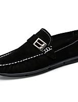 Для мужчин обувь Полиуретан Весна Осень Удобная обувь Мокасины и Свитер Назначение Повседневные Черный Оранжевый Хаки