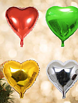 10pcs - 10inch Heart Shaped Balloons Beter Gifts® DIY Christmas Decoration