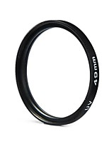 49mm Camera UV Protection Filter Lens for Canon Nikon Sony - BLACK