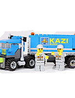 Building Blocks Truck Toys Vehicles Kids Boys Boys' 163 Pieces