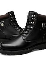 abordables -chaussures pour femmes cuir véritable peau de vache nappa en cuir doublure en duvet d'hiver bottes de mode bootie bottes de combat bottes