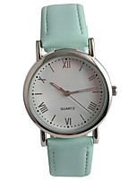 Women's Fashion Watch Wrist watch Japanese Quartz PU Band Green