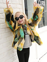 Faux Fur Wedding Party / Evening Kids' Wraps Coats / Jackets