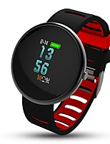 0,95 zoll farbe oled smart armband kalorien verbrannt pedometers schlaf tracker herzfrequenzmonitor anti-verlorene für ios android