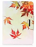 folha padrão carteira carteira com suporte flip magnético caso de couro pu para samsung galaxy tab a 9.7 t550 t555 9.7 polegadas tablet pc
